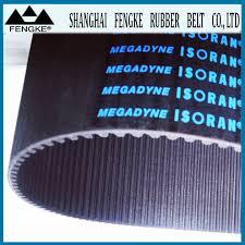 Isoran – стандартни гумени  зъбни ремъци от ръкав