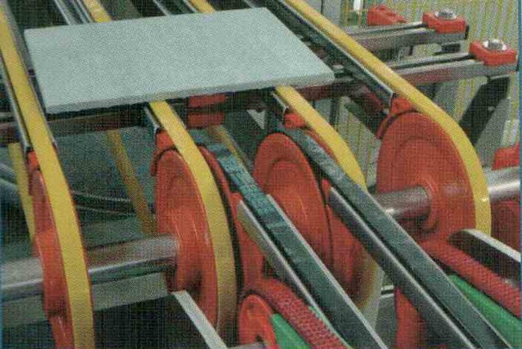 PU пръстени/Anvil covers и No crash ролки за ротор щанци – форматиране на велпапе