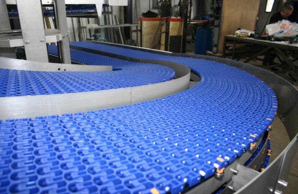 Uni Chains Модулни пластинчати ленти